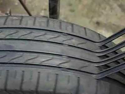 2分钟竟能翻新条轮胎 轮胎翻新