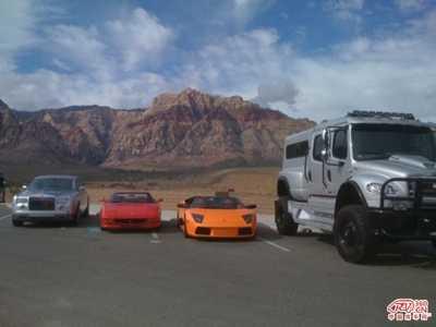 世界上最大型的越野车 霸气运动型豪车