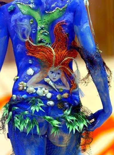 个人艺术写真 人体模特 超大胆欧美艺术图
