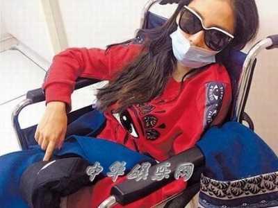 杨颖劳累过度紧急入院就医 黄晓明杨颖出院